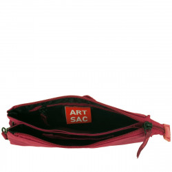 Artsac Zip Top - Wrist Strapped Purse / Case