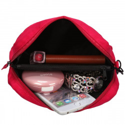 Artsac Small Zip Top Sectioned Wristlet / Pouch